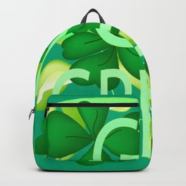 """Go Green"" Backpack"