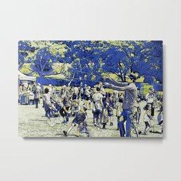 Summer Fun - Festive Event Metal Print