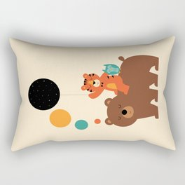My Little Explorer Rectangular Pillow