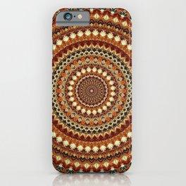 Terra Mandala iPhone Case