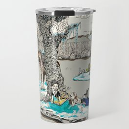Books Coming to Life: Frozen Travel Mug
