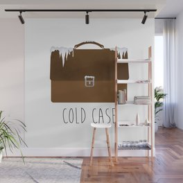 Cold Case Wall Mural