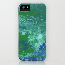Paint Pouring 41 iPhone Case