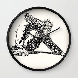 Jay Adams Wall Clock