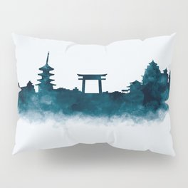 Kyoto Skyline Pillow Sham