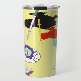 Collab - DaggerSnakes Travel Mug