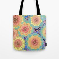 samsung Tote Bags featuring Obsession by micklyn