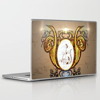 music notes Laptop & iPad Skins featuring Key notes  by nicky2342