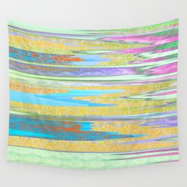 Mist of Lines Wall Tapestry