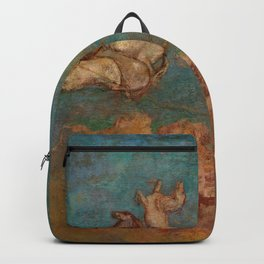 """Odilon Redon """"The Chariot of Apollo"""" Backpack"""