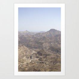 Dhofari Coast, Oman Art Print