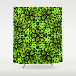 Floral Fractal Art G539 Shower Curtain
