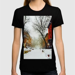 NYC @ Snow Time T-shirt