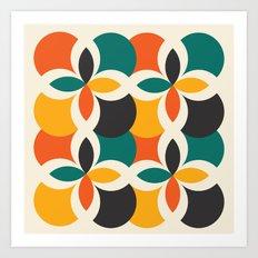 Midcentury Pattern 09 Art Print