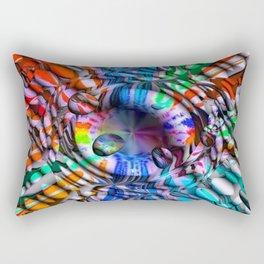 Sweet Drops by Nico Bielow Rectangular Pillow