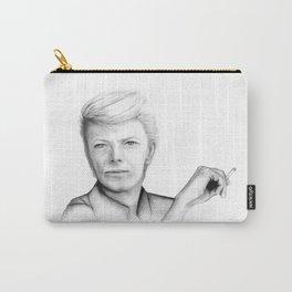 David Bowie Portrait Carry-All Pouch