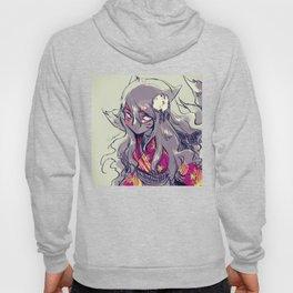 Fox girl sketch Hoody