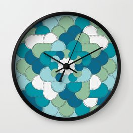 Patched Up Wall Clock