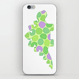 Stuart the stegosaurus iPhone Skin