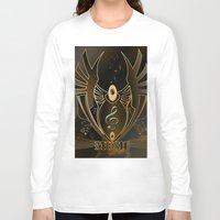 music Long Sleeve T-shirts featuring Music by nicky2342