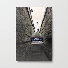 Vedettes du Pont-Neuf Metal Print