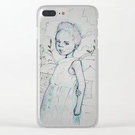 África Clear iPhone Case