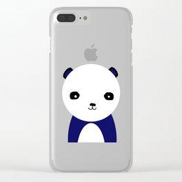 Pax, A Panda. Clear iPhone Case