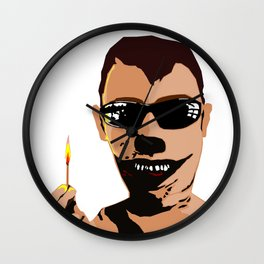 Mr. F - Arsonist Wall Clock