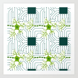 Neural Network 1 Art Print