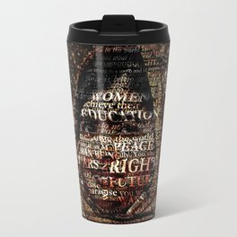 One Book, One Pen, One Child, and One Teacher Can Change The World !!! Travel Mug