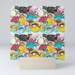 Coral Reef #1 - Water Mini Art Print