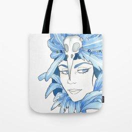 Lady Crow Tote Bag