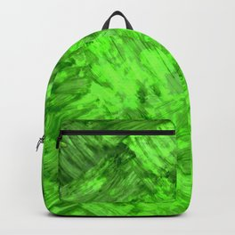 Green Patches Backpack