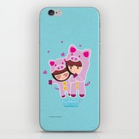 suits iPhone & iPod Skins featuring Piggy-Suits by I love Bubbah