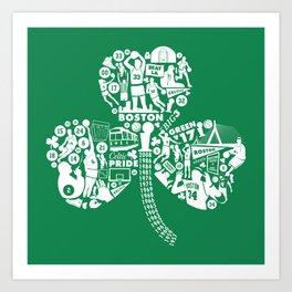 Dynasty-Green Art Print