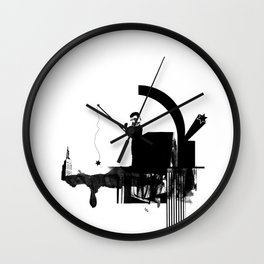 Fishing for Compliments ... Wall Clock