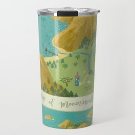 Moominvalley Map Interpretation (1/3) Travel Mug