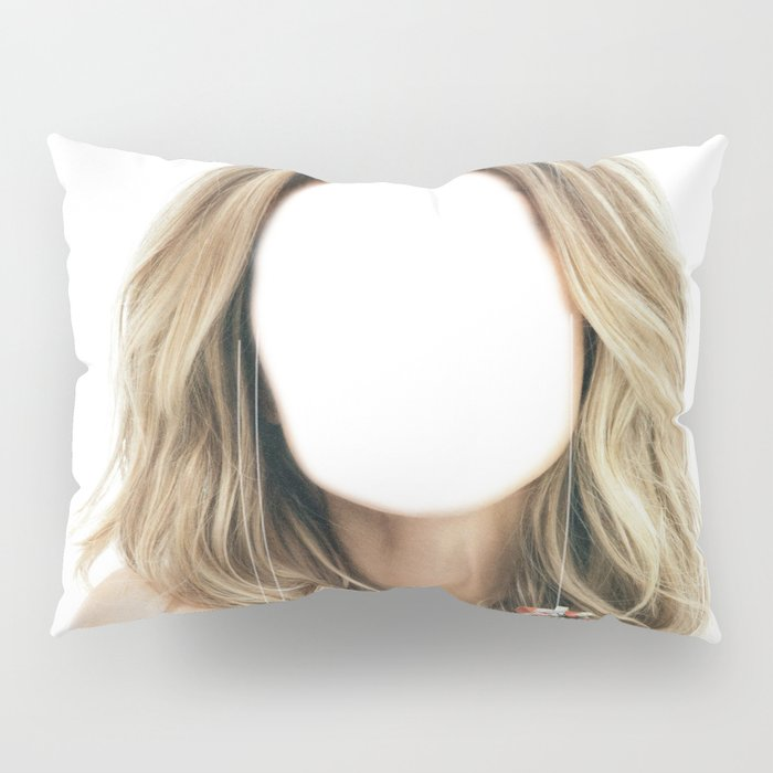 Miss Consume Pillow Sham
