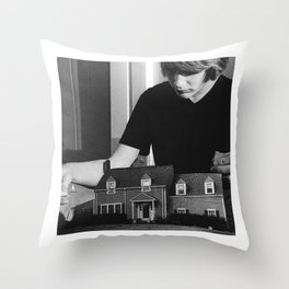 On The Anthill Throw Pillow