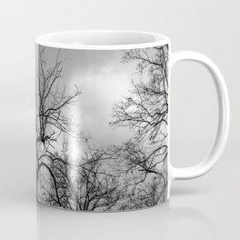 Witchy black and white tree Coffee Mug