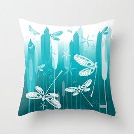 CN DRAGONFLY 1014 Throw Pillow