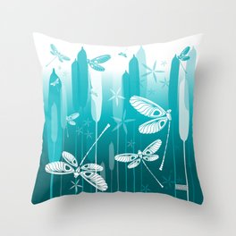 CN DRAGONFLY 1014 Throw Pillow