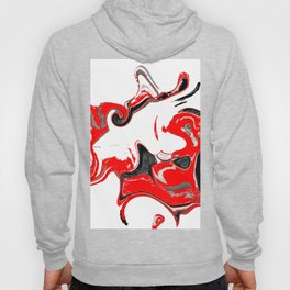 contradiction abstract digital painting Hoody