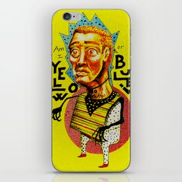 Jacinto Coronel iPhone Skin