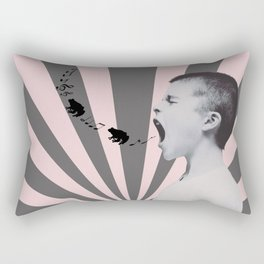 SINGING FROGS Rectangular Pillow