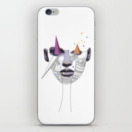 V is for Visualize iPhone Skin
