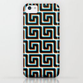 Pixel Wave no.3 iPhone Case