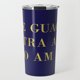 The Guac Is Extra-Navy | Guacamole | Sassy | Digital Typography Travel Mug