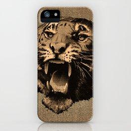 Vintage Tiger iPhone Case