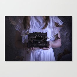 Tattered dreams Canvas Print
